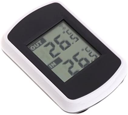 Thermomètre extérieur sans fil LCD 433 MHz pour l'intérieur et l'extérieur.
