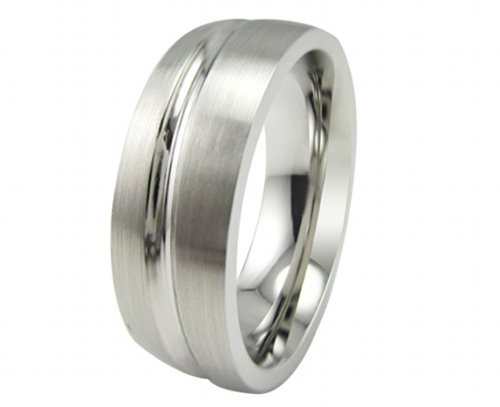 Jewellery Excellent Mens 1 high quality Stainless Steel Partnership ring Stainless Steel wedding ring with free-of-charge engraving