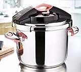 SHN Stainless Steel Pressure Cooker 9 litres (9 litres Slim...