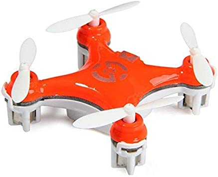 Opinión sobre Cheerson® CX-10 Mini Drone Nano Cuadricópteros RTF - 4 Canales 6 Ejes Gyro 360 Grados 2.4G RC Minicóptero con Luz LED (Naranja)