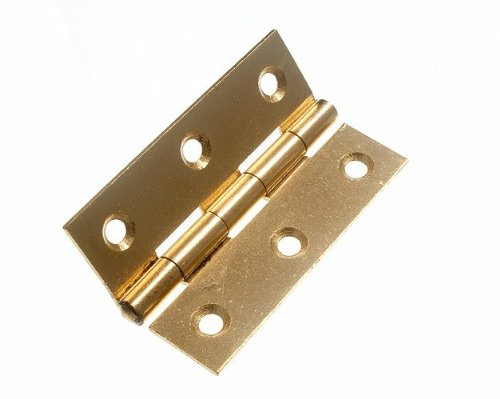 20 Pairs Butt Hinge ( Door Box ) Eb Brass Plated Steel 63Mm 2 1/2 In + Screws DIRECT HARDWARE