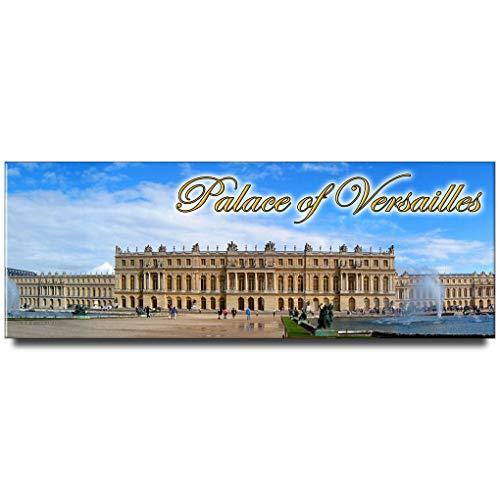 Palace of Versailles panoramic fridge magnet Paris travel souvenir France