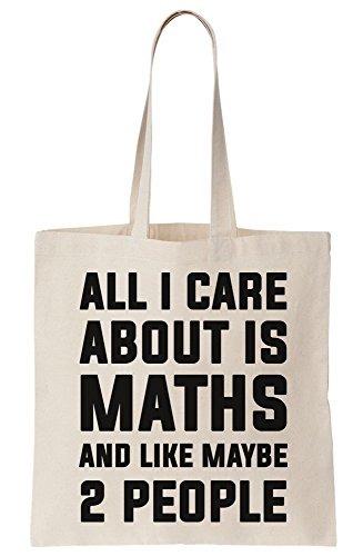 And Maths Like All Is People I Care Canvas Tote 2 About Bag Maybe wpYqFXBnqx