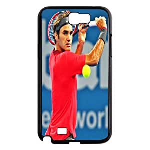 Diy Phone Cover Roger Federer for Samsung Galaxy Note 2 N7100 WEQ409341