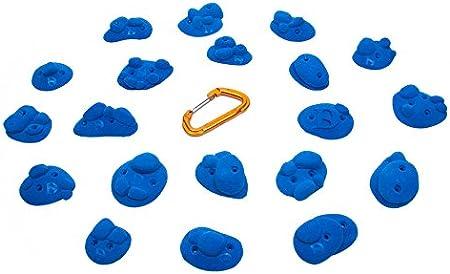 DIDAKs Pack de Presas de Escalada Pebbles: Amazon.es ...