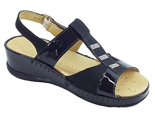 Susimoda Women's Fashion Sandals Black dRqN0ZN