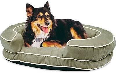 hangzhou tianyuan pet prod TV182278 Suede Dog Bed, Green