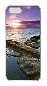 iPhone 5S PC Clear case Relief case non-slip case Soft iPhone Case Suit iPhone5 Colored caseRock With Potholes