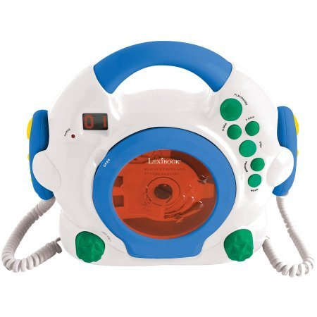 LEXiBOOK Karaoke CD Player (Kids Player Sing Cd Along)