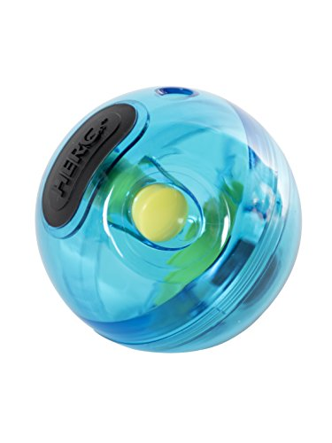 HERO Playtime Polycarbonate Treat Dispensing Giggle Ball Dog Toy ()