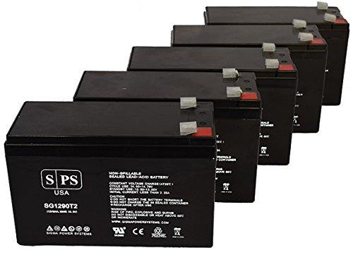 Maruson Technology Power NET-1000 ART 12V 9Ah UPS Replacement Battery (4 Pack) - Maruson Net