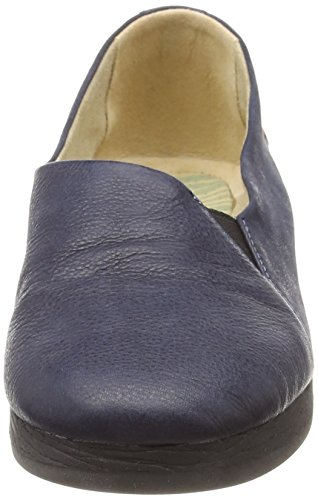 Women's Blue Ako416sof Softinos Heels Navy Closed Toe 7dCWWnFvq