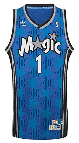 Price comparison product image Adidas Men's Orlando Magic NBA Penny Hardaway Soul Swingman Jersey Blue XX-Large