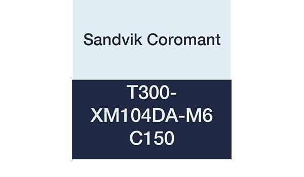 HSS CoroTap 300 cutting tap with spiral flutes Right Hand Cut Sandvik Coromant T300-XM104DA-M6 C150 No Coolant