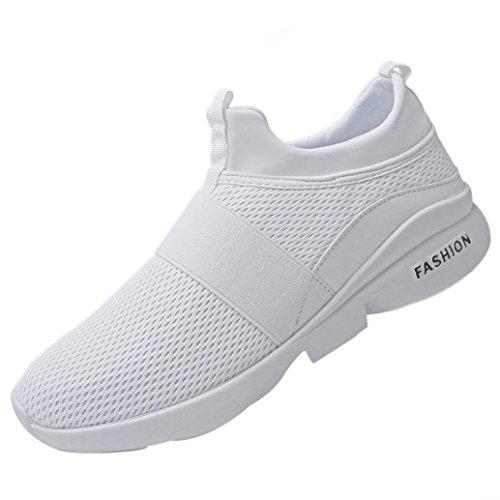 Imbottite Scarpe Allacciare Sportive Di Challenge Bianca Traspiranti Sneakers Da Tela Ginnastica scarpe Unisex Uomo Basse Uomo 6dtxxqfY
