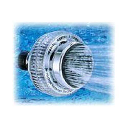 Waterpik SM 2UC Power Sm-2Uc Original Shower Massage Showerhead 5 Spray Functions 2.5 Gpm 1//2 in 3-1//4 in Face Dia White Delta kohler hansgroe moen speakman hotel shower marriott hilton hotel shower culligan shower filter interlink aquadance dreamspa