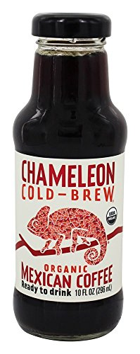 Chameleon Cold-Brew Organic Ready-to-Drink Coffee, Mexican, 10 oz