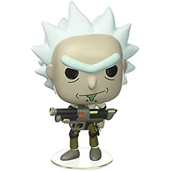 Amazon.com: Funko Pop Keychain: Rick and Morty - Rick Toy ...