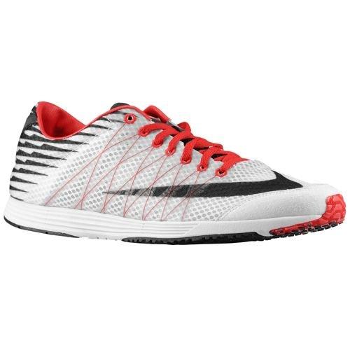 Nike Lunarspider R 3-mens. Wit / Zwart / Universiteitsrood