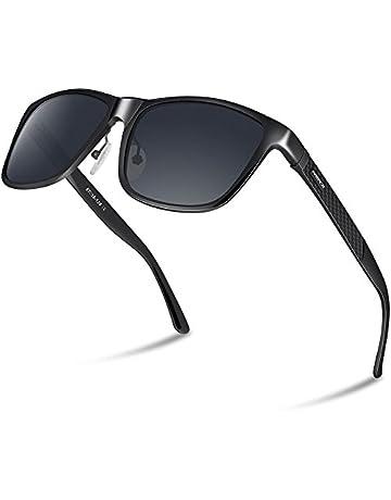 9055e69f22 PAERDE Men's Polarized Sunglasses For Men Driving Metal Frame Ultra Light  Sun Glasses