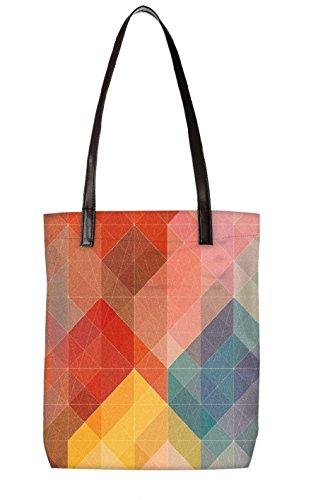 Snoogg Strandtasche, mehrfarbig (mehrfarbig) - LTR-BL-3050-ToteBag