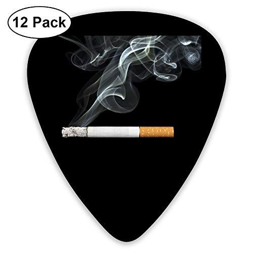 Classic Guitar Pick (12 Pack) Thug Life Cigarette Smoke Player's Pack Electric Guitar,Acoustic Guitar,Mandolin,Guitar Bass -