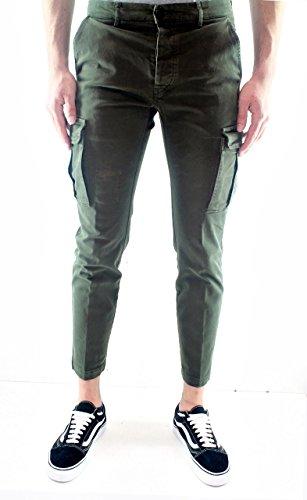 P.M.D.S. Pantalone Uomo NICKY03545 Verde
