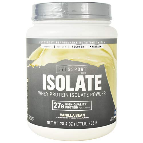 Cytosport Isolate Whey Protein Isolate Vanilla Bean 1.77 Lb