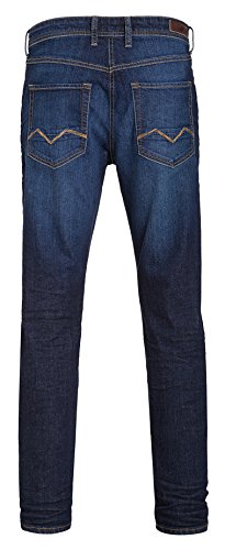 MAC Herren Jeans Arne 0503 authentic blue stone wash H672
