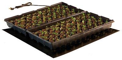 Hydrofarm MT10008 20'' x 20'' 45 Watts Seedling Heat Mat by Hydrofarm
