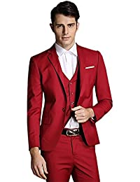 Amazon.com: Red - Suits & Sport Coats / Clothing: Clothing, Shoes ...