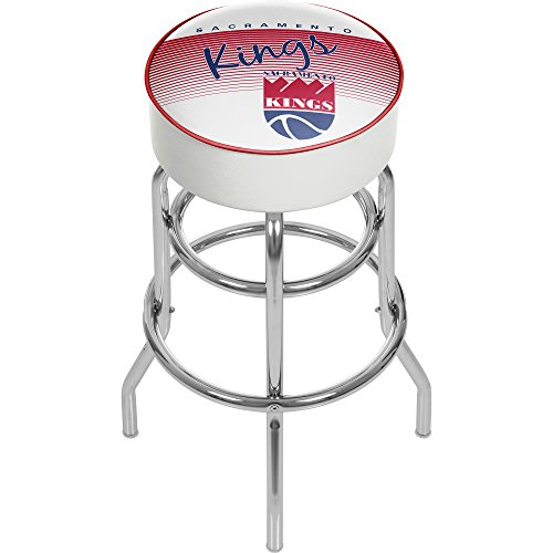 NBA Sacramento Kings Hardwood Classics Bar Stool, One Size, Chrome