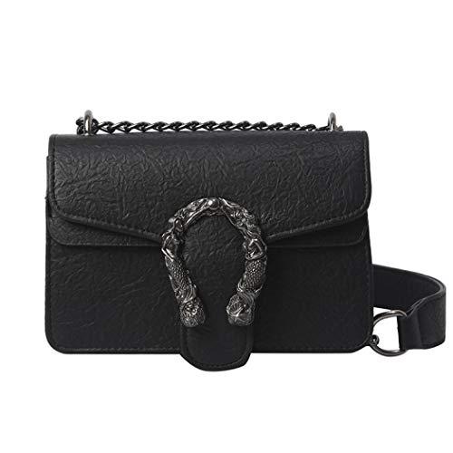 Designer Crossbody Bag Wedding Mini Shoulder Purse Party Handbag Classic Clutch for Women (Black)