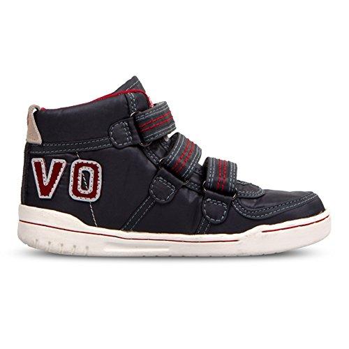 Boys And Girls High Top Sneakers Velcro Strap Winter Warm Athletic Sneaker (Little Kid/Big Kid/) by Zarbrina Kids (Image #3)