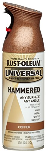 RUST-OLEUM 247567 Spray-Paints, 1 Pack, Hammered Copper (Hammered Metal Furniture)