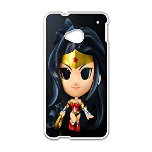 Printed Quotes Phone Case Wonder Woman For HTC One M7 Q5A2112315