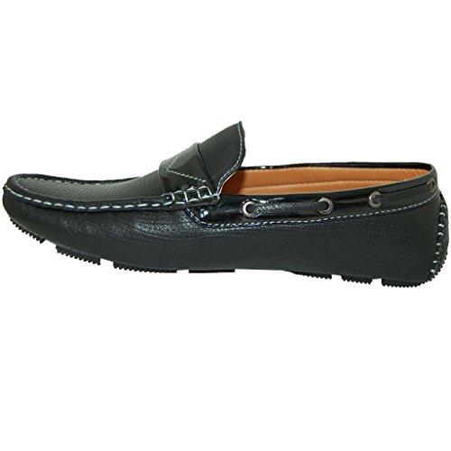 Schoenartiesten Luxe Relaxed In Zwarte Loafer - Heren