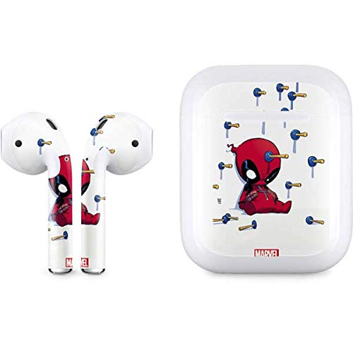 quality design 5737e 6498e Skinit Baby Deadpool Apple AirPods Skin - Officially Licensed Marvel/Disney  Audio Decal - Ultra Thin, Lightweight Vinyl Decal Protection