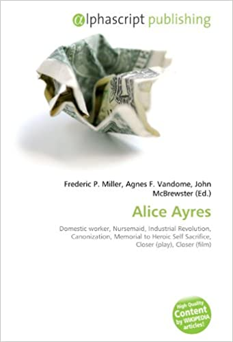 Alice Ayres: Domestic worker, Nursemaid, Industrial Revolution ...