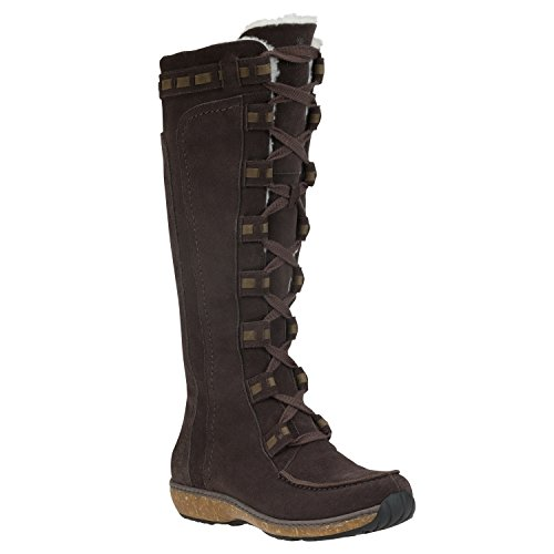 Timberland Granby Tall Dark Brown Waterproof Women's Winter