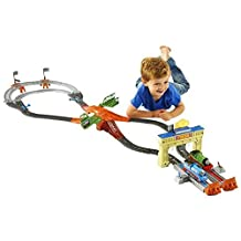 Fisher-Price Thomas The Train: TrackMaster Thomas/Percy's Railway Race Set