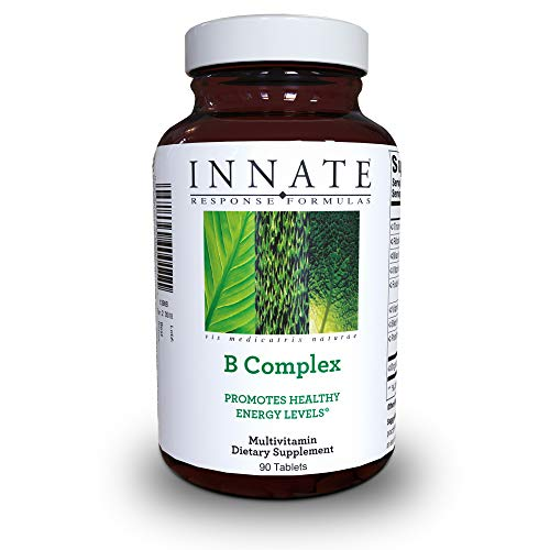 INNATE Response Formulas - B Complex, Promotes Energy and Health of The Nervous System, 90 - Tabs Response Heart 90
