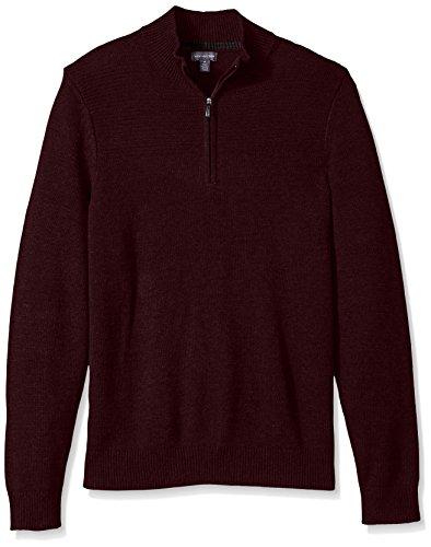 1/4 Zip Cotton Sweater - 5