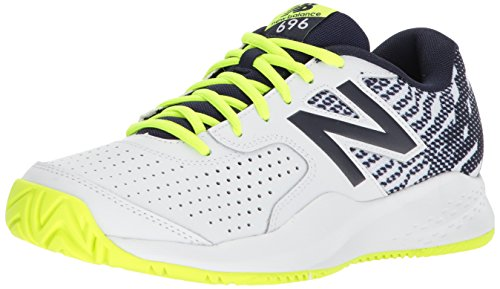 Ny Balans Mens 696v3 Tennis Sko Hi Lite / Pigment