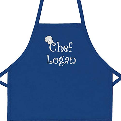 Personalized Chef Any Name Child Apron (Regular 20