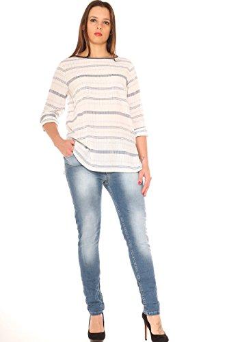 Skinny Slavato Coyba By In Taglia Donna curvy Stretch Denim Morbida Jeans SPqn14A