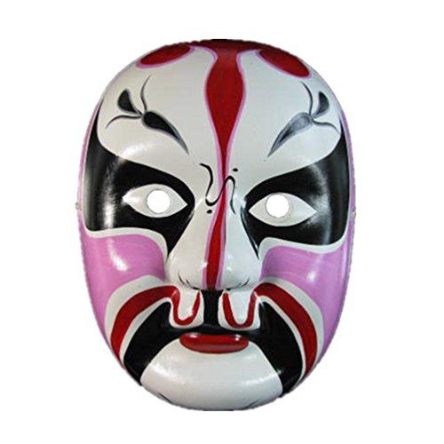 Chinese Opera Mask (Beijing Opera Mask, Chinese Opera Mask, Costume Mask, Face Mask)
