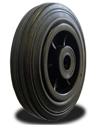 160mm Wheel with Rubber on Nylon Centre 175kg Capacity Atlas Handling Uk Ltd