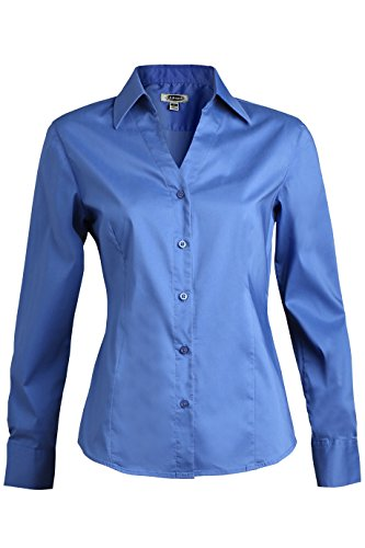 Ladies Vneck Stretch Blouse
