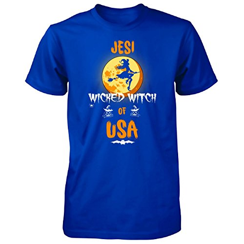 Jesi Wicked Witch Of Usa. Halloween Gift - Unisex Tshirt Royal L (Halloween Jesi)